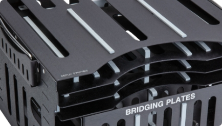 bridging plates of sterilization case system