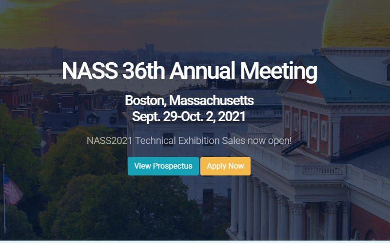 NASS 36th annual meeting announcement
