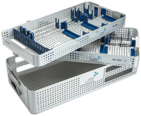 modular sterilization container with adjustable components