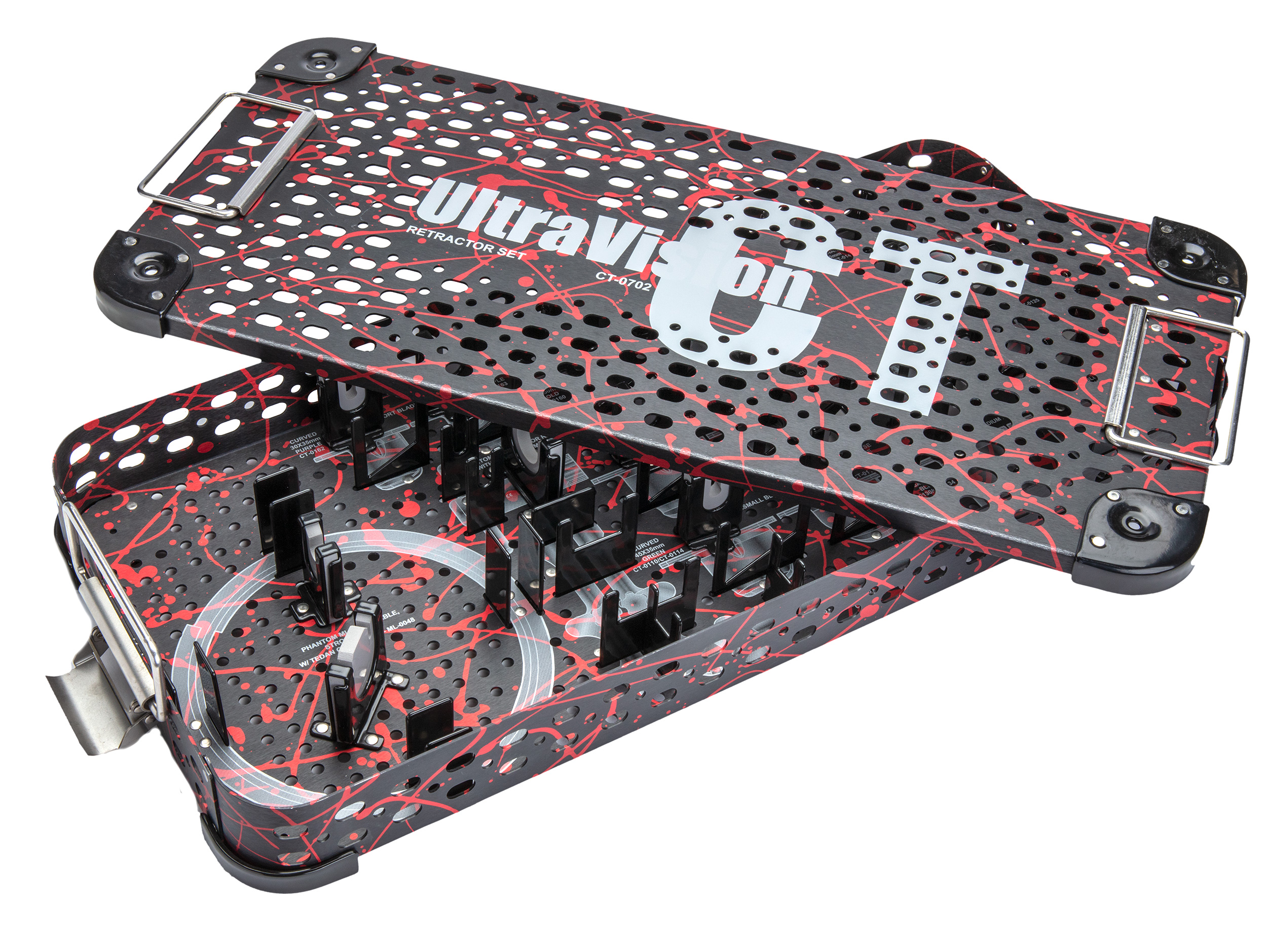 Case with custom logo and graphics