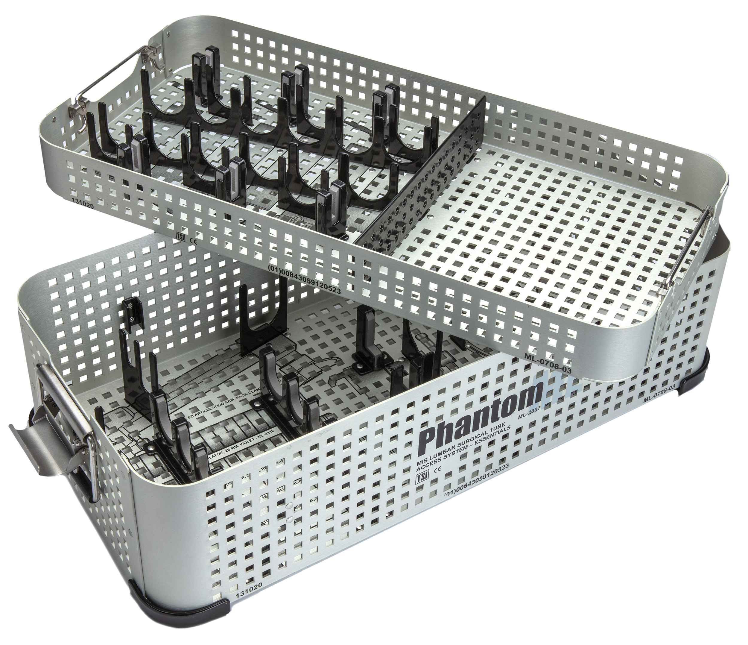Modular surgical instrument case